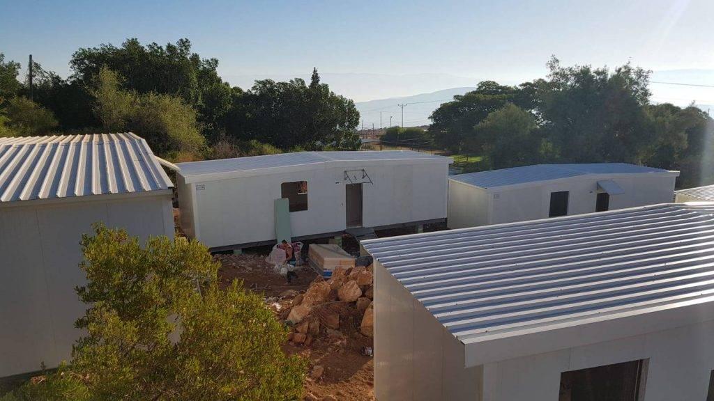 מבנה בכפר סטודנטים מכורה