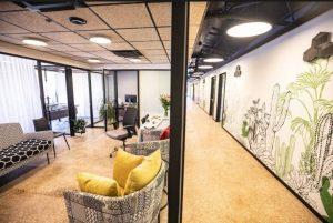 מבנה משרדים נייד בגוש עציון