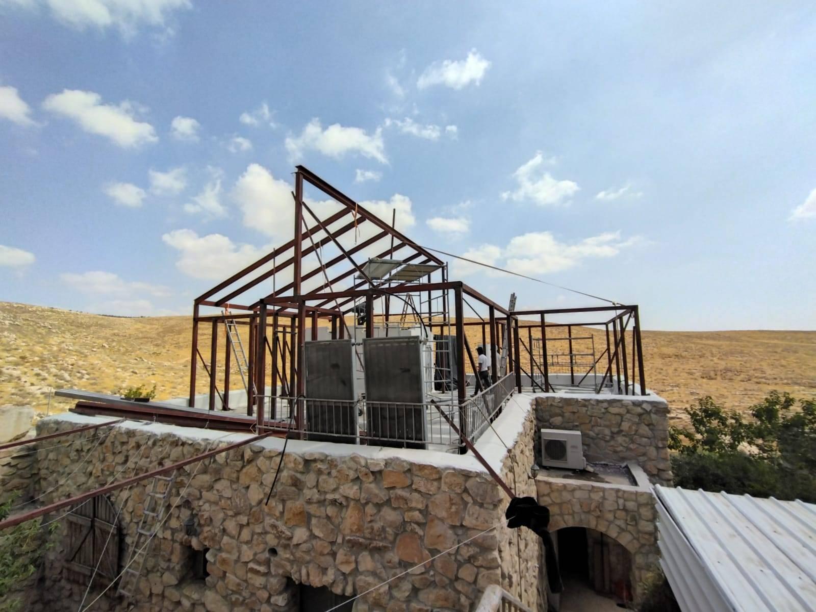 פרויקט מבנה נייד למגורים בכפר אלדד
