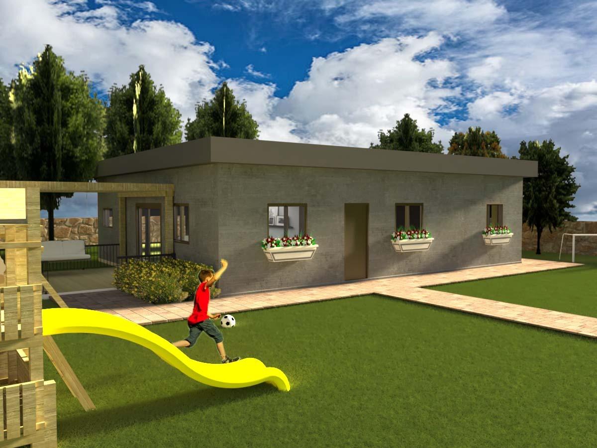 """מבנה מגורים נייד בגודל 120 מ""""ר"""