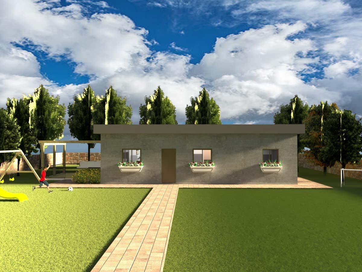 """מבנה נייד למגורים בגודל 120 מ""""ר"""