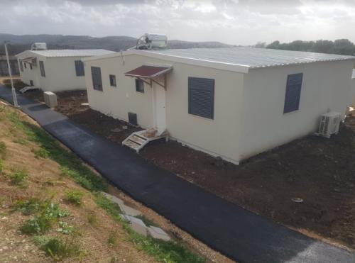 מבנה מגורים נייד 90 מר צילום חוץ