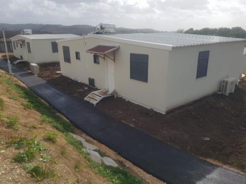 מבנה נייד מגורים