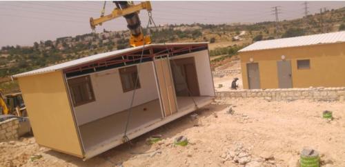 תהליך בניה קלה לפרויקט שכונת מגורים נתיב האבות