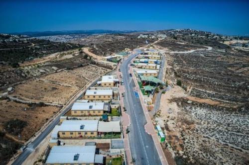 שכונת נתיב האבות עם מבנים יבילים לצורכי מגורים